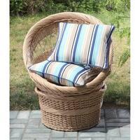 Clairebella Candy Stripe Outdoor Pillow Set