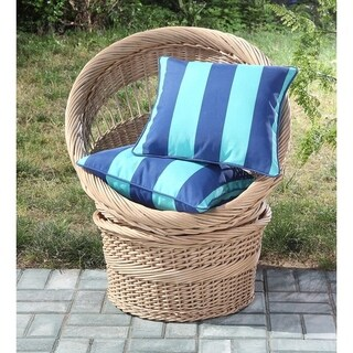 Clairebella Cabana Stripe Outdoor Decorative Pillow Set