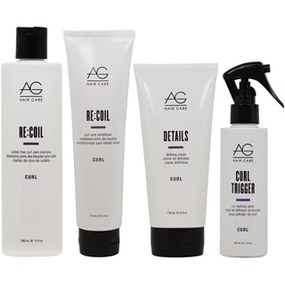AG Hair Recoil Detail Defining Curl Care 4-piece Set
