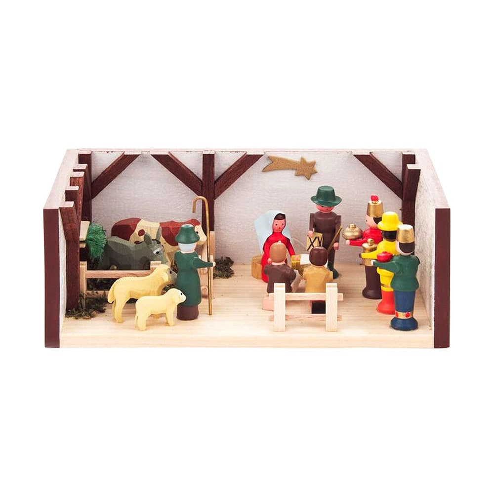 "Alexander Taron Dregeno Mini Room - Nativity - 1.5""H x 4...."