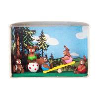 "Alexander Taron Dregeno Matchbox - Bunny Kids - 1.5""H x 2.25""W x .75""D"