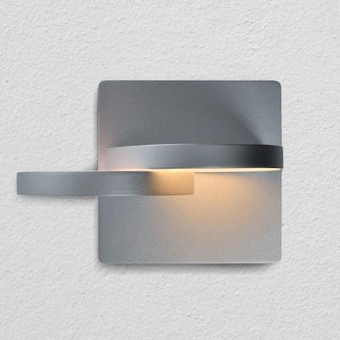 "VONN Lighting VMW17000AL Eclipse 7"" Rotative LED Wall Sconce Silver"