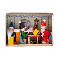 "Alexander Taron Dregeno Matchbox - Christmas Surprise - 1.5""H x 2.25""W x .75""D"