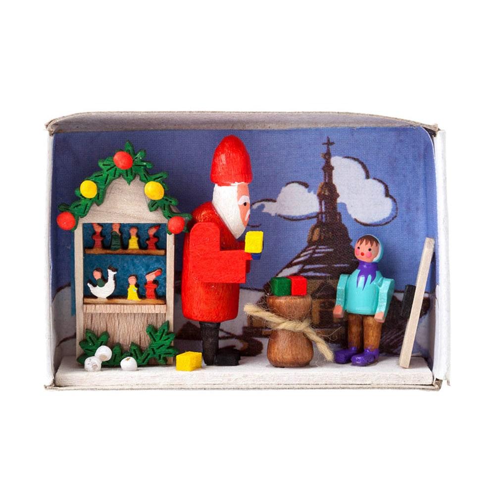 Dregs Alexander Taron Dregeno Matchbox - Santa with Gifts...