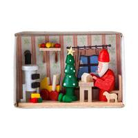 "Alexander Taron Dregeno Matchbox - Santa""s Workshop - 1.5""H x 2.25""W x .75""D"