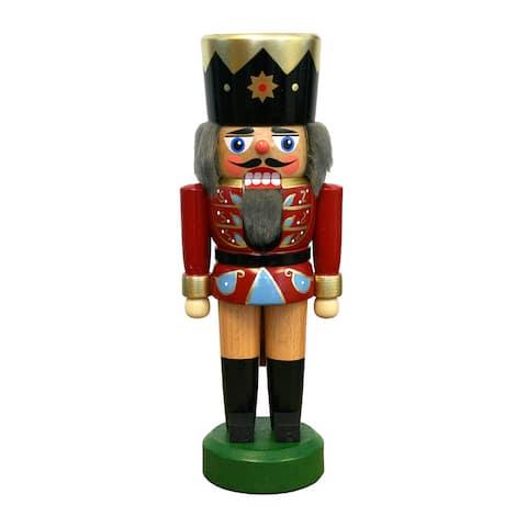 "Alexander Taron Dregeno Nutcracker - Red Soldier - 8.75""H x 3""W x 2.75""D"