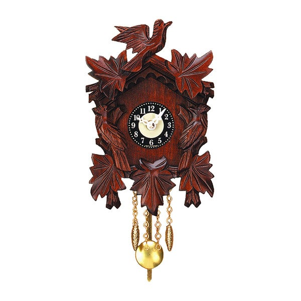 "Alexander Taron Engstler Battery-operated Clock - Mini Size with Music/Chimes - 7""H x 5""W x 3""D"