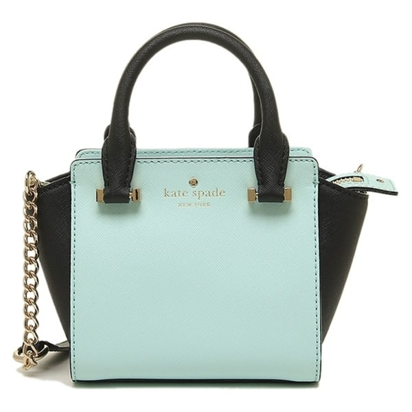 3e8161e32 Kate Spade New York Women's Cedar Street Mini Hayden Crossbody bag Grace  Blue/Black