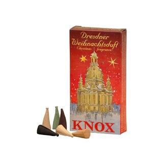 "Alexander Taron Knox Large Incense - Assorted Scents - 1 Box of 24 pcs - 5""H x 2.5""W x .75""D"
