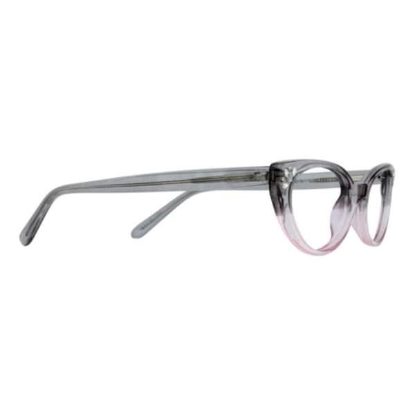 St. Moritz Rhona Gray Blush Eyeglass Frame - Grey/Pink - Free ...