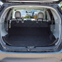 Cargo Liner Dog Seat Cover / Quilted All-weather Non-slip Trunk Liner for SUVs