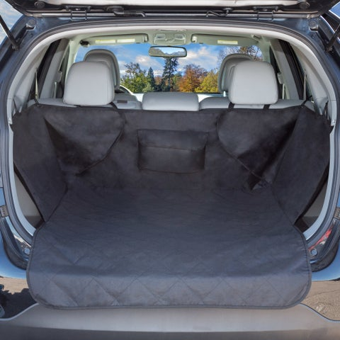 """Cargo Liner Dog Seat Cover- Quilted All Weather Non-Slip for SUVs (39"""" x51"""")"""