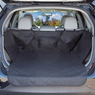 "Cargo Liner Dog Seat Cover- Quilted All Weather Non-Slip for SUVs (39"" x51"")"