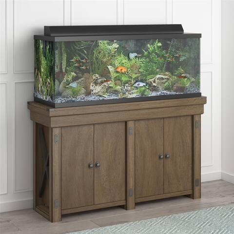 Avenue Greene Woodgate 55 Gallon Aquarium Entertainment Stand
