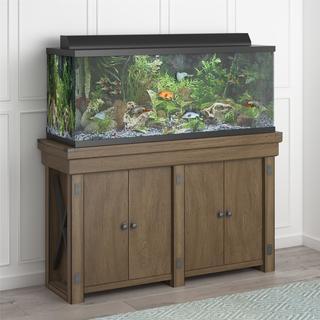 Avenue Greene Woodgate 55 Gallon Aquarium & Entertainment Stand