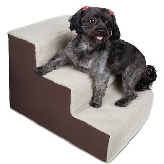 Paws & Pals Dog/Cat Stairs 3-step for Home or Travel - Up to 175 lb.