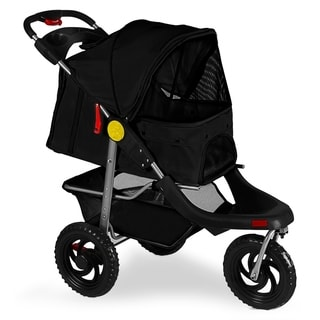 Paws & Pals Dog/Cat 3-Wheel Pet Stroller - Walk, Jog, Travel