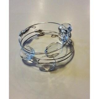 Crystal Clear Wrap Around Bracelet