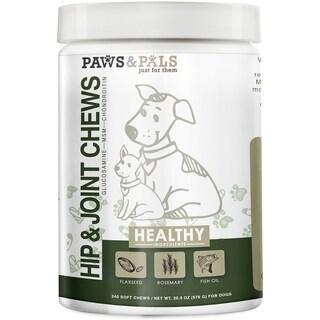 Paws & Pals Glucosamine Chondroitin Hip Joint Chews Advanced Formula