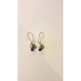 Magnesite Gemstone Earring set