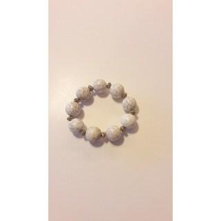 Handmade Magnesite Gemstone Bracelet (USA)