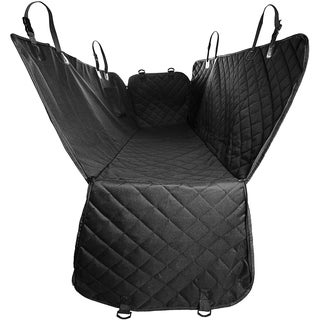 Paws & Pals Pet Dog/Cat Car Seat Cover for Rear Bench Seat