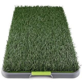 Paws & Pals Pet Potty Synthetic Grass Pee Training Pad for Dog/Cat