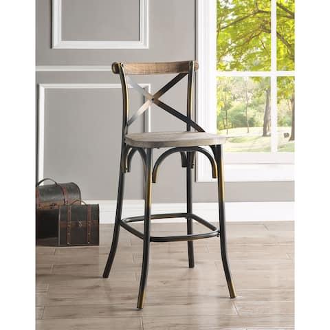 ACME Zaire Bar Chair in Antique Copper