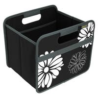 Meori Classic Small Folding Fabric Storage Box, Flowers
