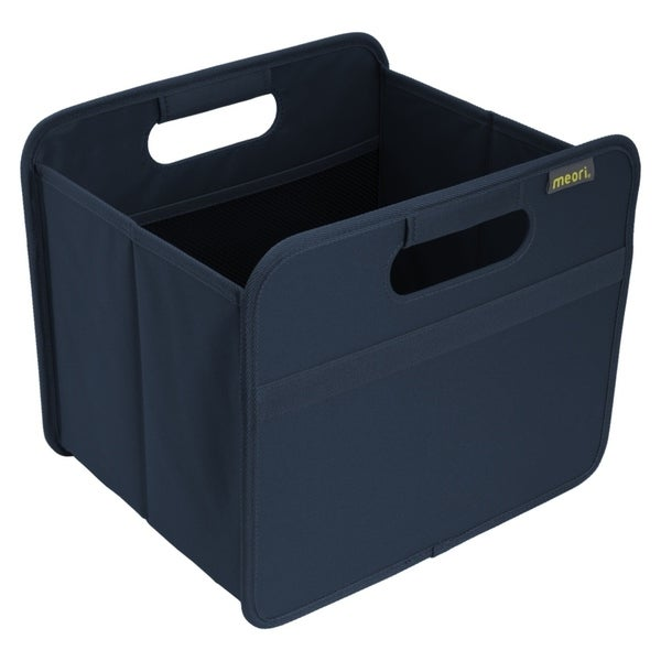 Meori Classic Small Folding Fabric Storage Box, Solid