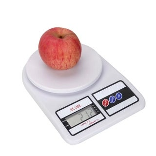 10kg White Digital LCD Electronic Kitchen Cooking Food Weighing Scales