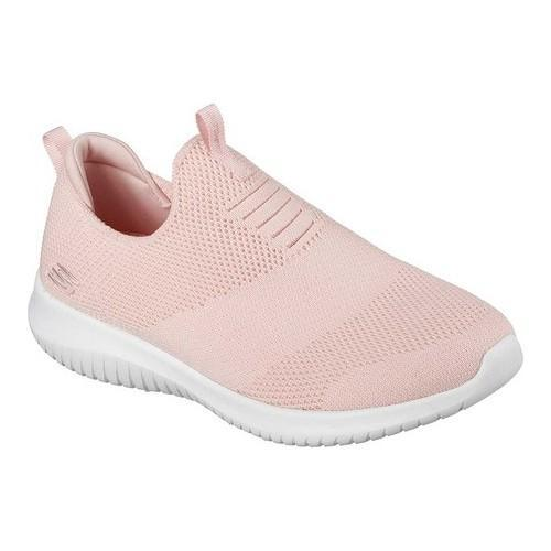 b8414a2eaf67d Shop Women's Skechers Ultra Flex First Take Slip-On Sneaker Light Pink -  Free Shipping Today - Overstock - 19220260
