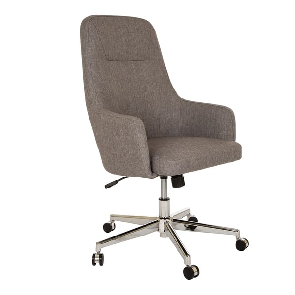 Wondrous Shop Glitzhome Mid Century Modern Adjustable Office Chair Gmtry Best Dining Table And Chair Ideas Images Gmtryco