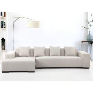 modern sectional sofa beige lungo r
