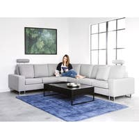 Fabric Sectional Sofa - Light Gray STOCKHOLM