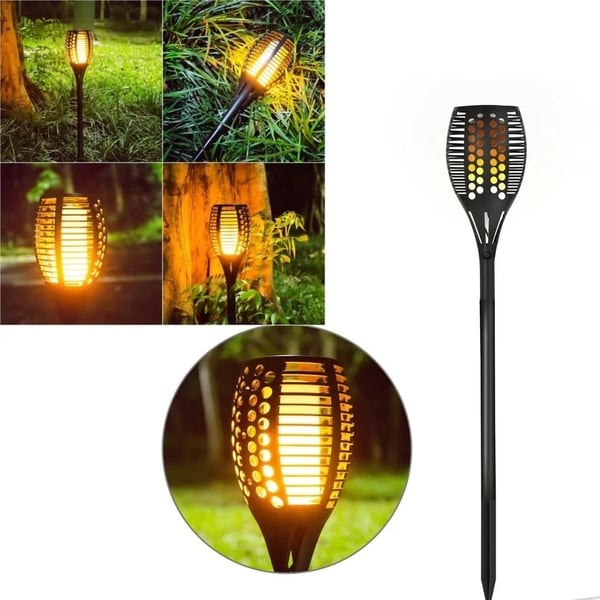 Shop LED Solar Path Torches Lights Flame Lighting