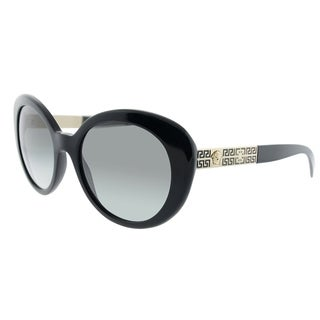 Versace Cat-Eye VE 4318 GB1/11 Womens Black Frame Grey Gradient Lens Sunglasses