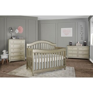 Evolur Hampton 5 in 1 LifeStyle Convertible Crib