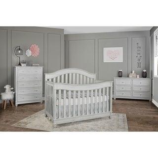 Evolur Hampton 5 in 1 LifeStyle Convertible Crib