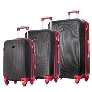 HyBrid Travel Almada 3 Piece Luggage Set