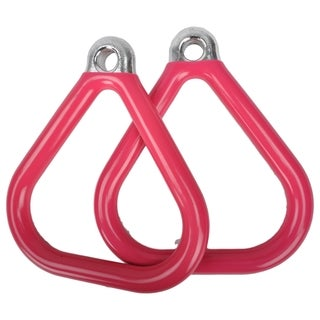 Swing Set Stuff Commercial Coated Triangle Trapeze Rings (Pair)