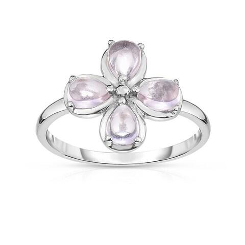 Kipling Kids Sterling Silver Pink Flower Ring
