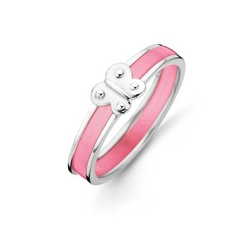 Kipling Kids Sterling Silver Pink Butterfly Ring