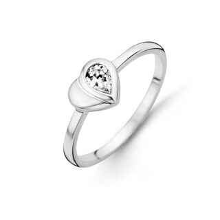 Kipling Children Sterling Silver Heart Cz Ring (2 options available)