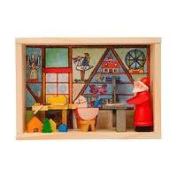 "Alexander Taron Graupner Matchbox - Santa""s Workshop - 3""H x 4""W x 1.5""D"