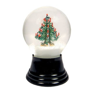 "Alexander Taron 5"" Perzy Holiday Seasonal Medium Christmas Tree Snowglobe"