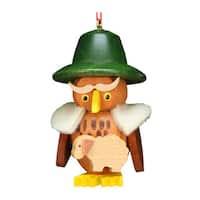 Alexander Taron Christian Ulbricht Christmas Home Owl Shepherd Ornament