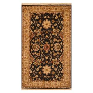 Handmade Mahal Wool Rug (India) - 2'11 x 5'