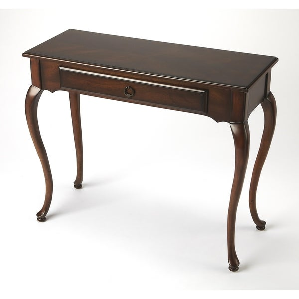 Shop Butler Plumley Plantation Cherry Console Table On Sale Free
