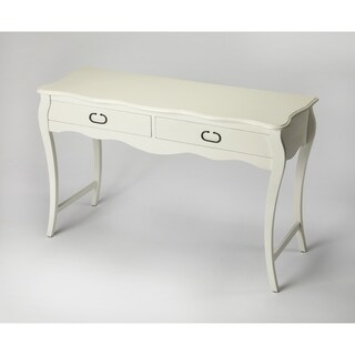 Butler Rochelle White Console Table